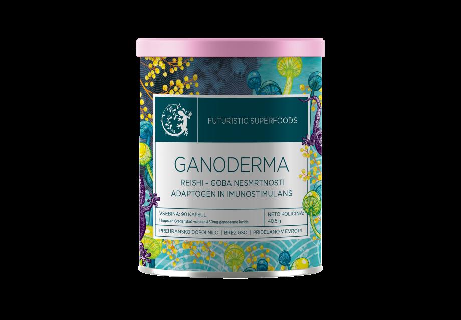 Ganoderma - Rejši kapsule
